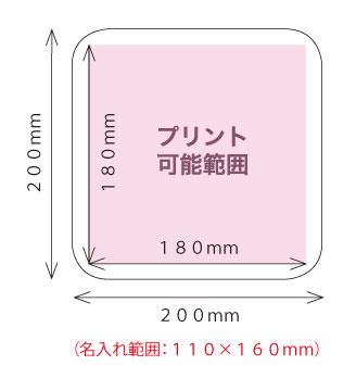 タオル印刷サイズ