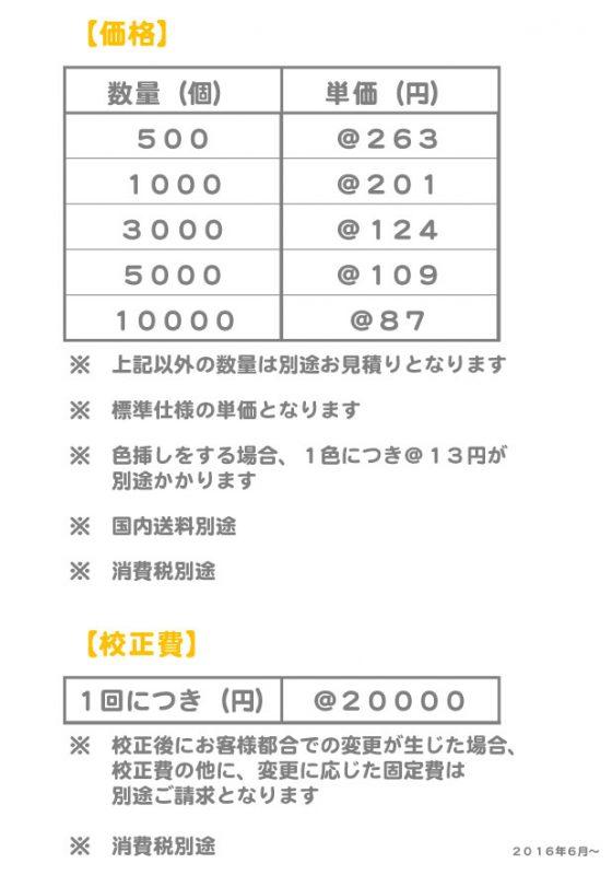 凹価格表1606
