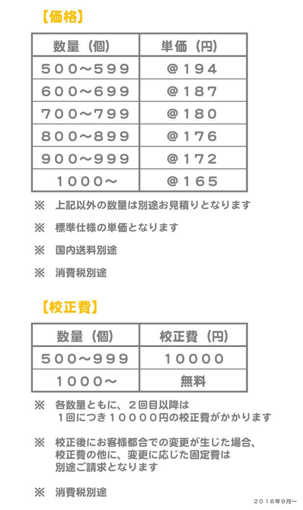 マルチクリーナー価格表
