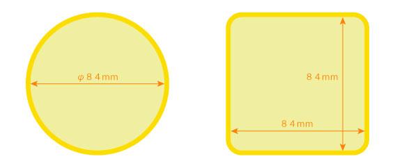アルミ印刷サイズ